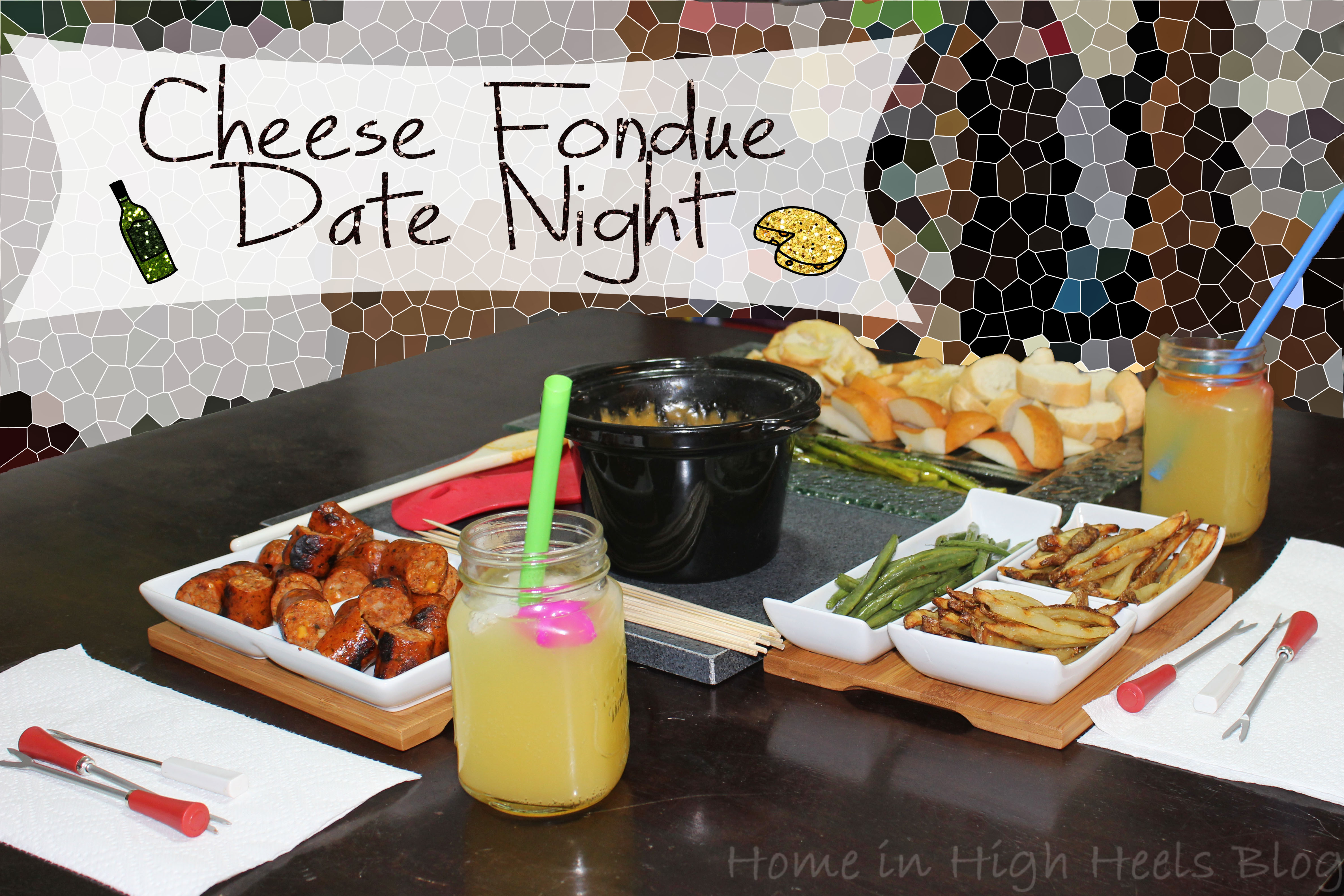 fondue date night beer cheese fondue crockpot style home in high