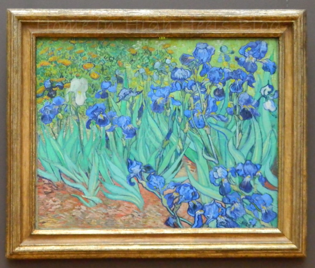 J Paul Getty Museum Jan 2014 California Irises Painting Van Gogh