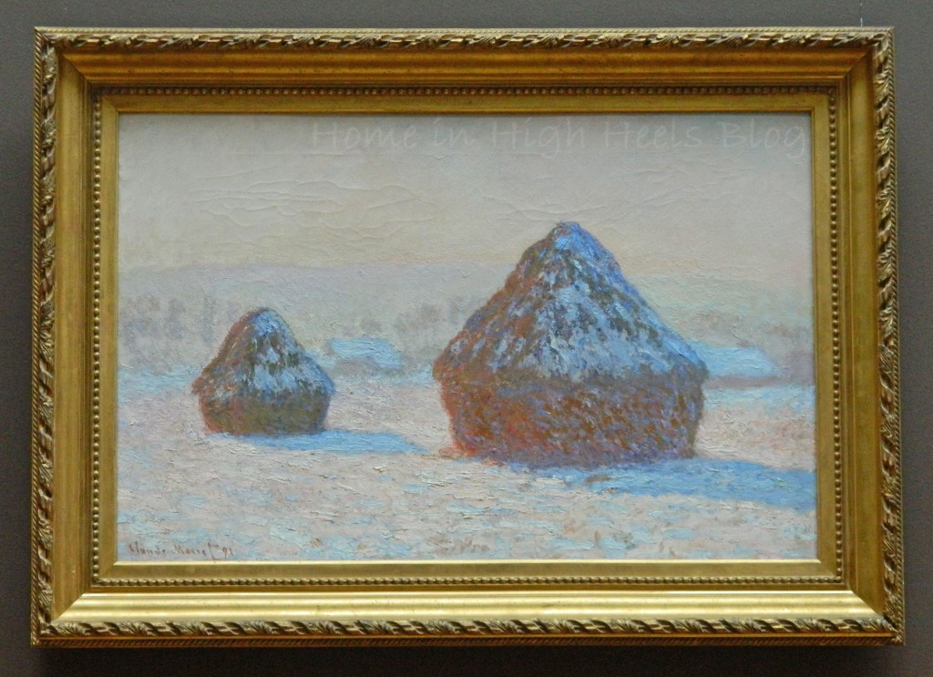 J Paul Getty Museum Jan 2014 California Painting Monet Haystacks