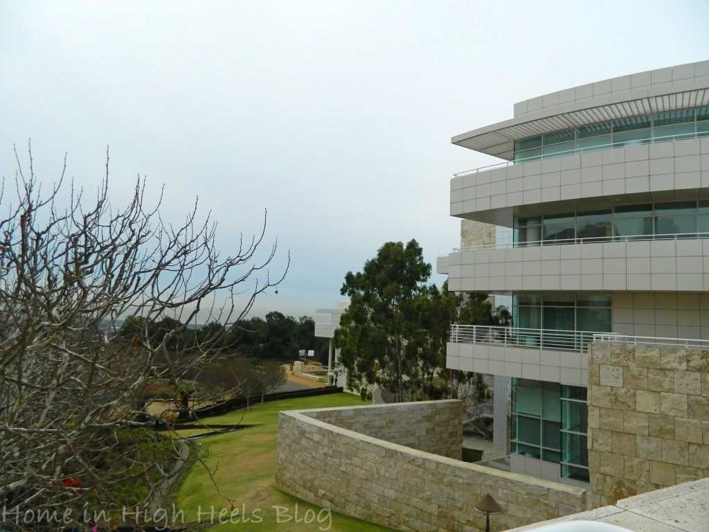 J Paul Getty Museum Jan 2014 Visit Oudoors  California