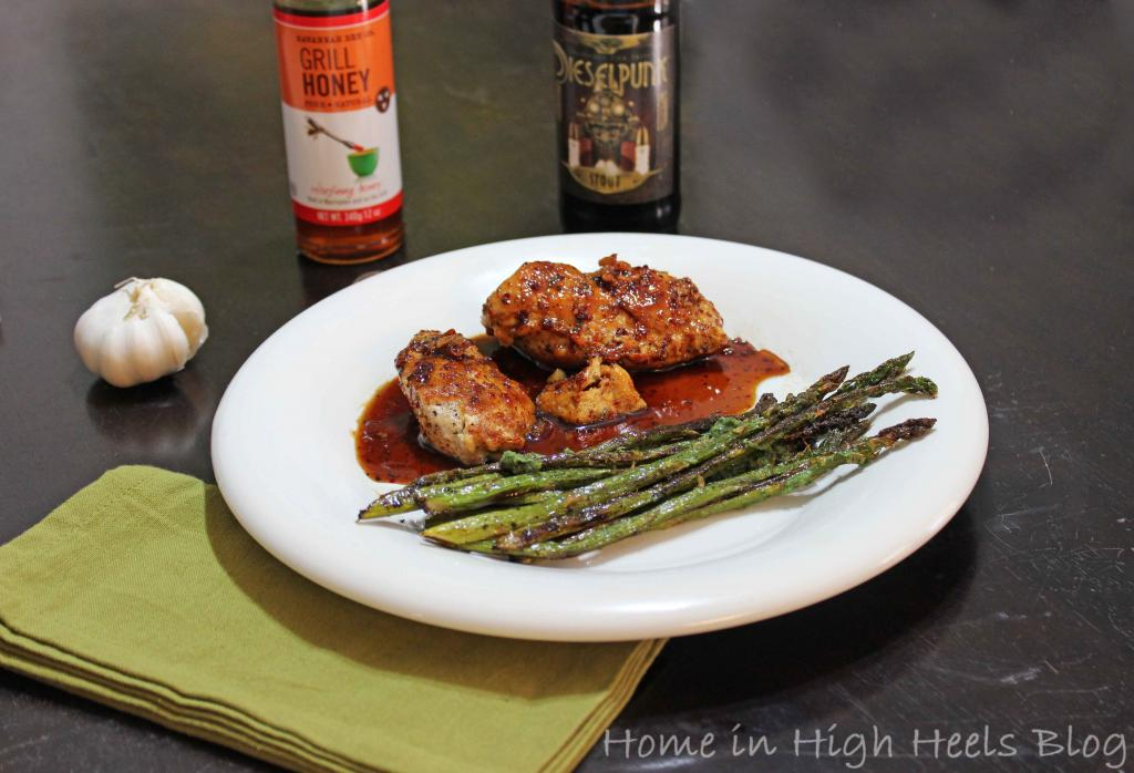 Easy Sweet and Spicy Honey Beer Sauce with Chicken Recipe
