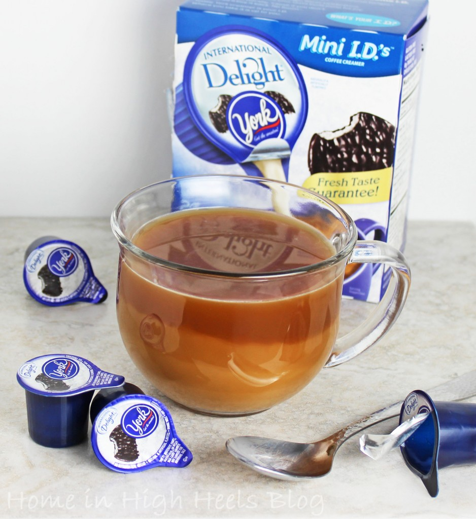 International Delight York Peppermint Creamer Mini Review Tea & Coffee Tuesday Home in High Heels