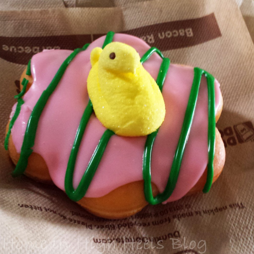 dunkin donuts spring 2014 Donut Peeps donut picture