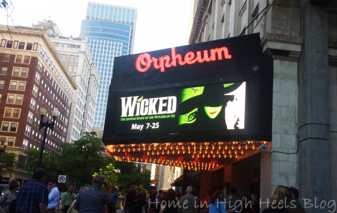 Wicked at the Orpheum Theater ReviewWicked at the Orpheum Theater Review