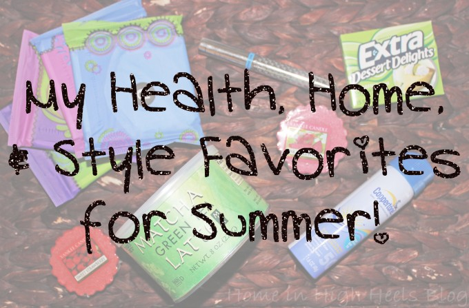 My Health Home & Style Favorites for Summer from Home in High Heels