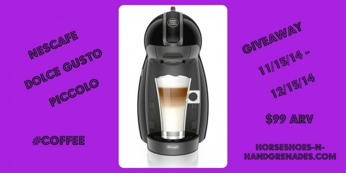 WIN A NESCAFÉ DOLCE GUSTO PICCOLO COFFEE BREWER!
