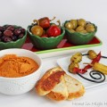 Easy Holiday Appetizers & Roasted Red Pepper Hummus with Mezzetta