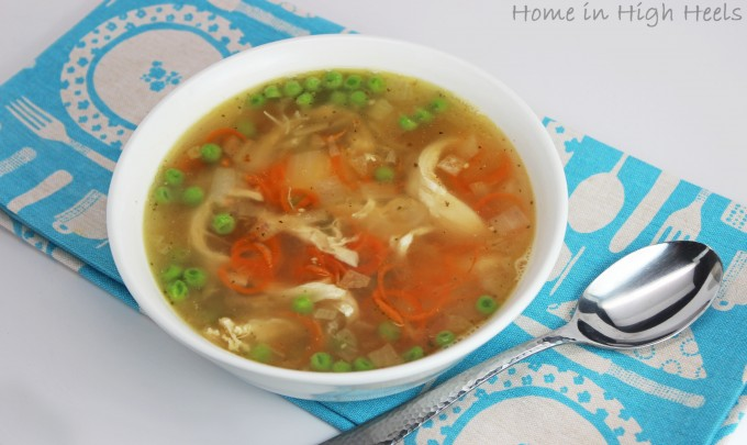 The Inspiralized Cookbook is the Best Way to Transform Your Food + a Carrot Noodle Soup Recipe! from Home in High Heels