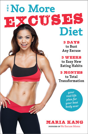 The No More Excuses Diet: 3 Days to Bust Any Excuse, 3 Weeks to Easy New Eating Habits, 3 Months to Total Transformation by Maria Kang is a seriously long title but an effective way of thinking! Check out the review on Home in High Heels!