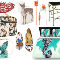The Top Spring Fashion Trends for Your Home with Stripes, Animals, & Gingham Style! www.homeinhighheels.com