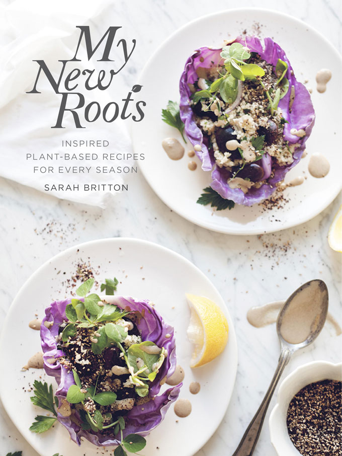 Discover how easy it is to eat healthfully and happily when whole foods and plants are at the center of every plate within My New Roots by Sarah Britton. Check out my review on Home in High Heels | www.homeinhighheels.com