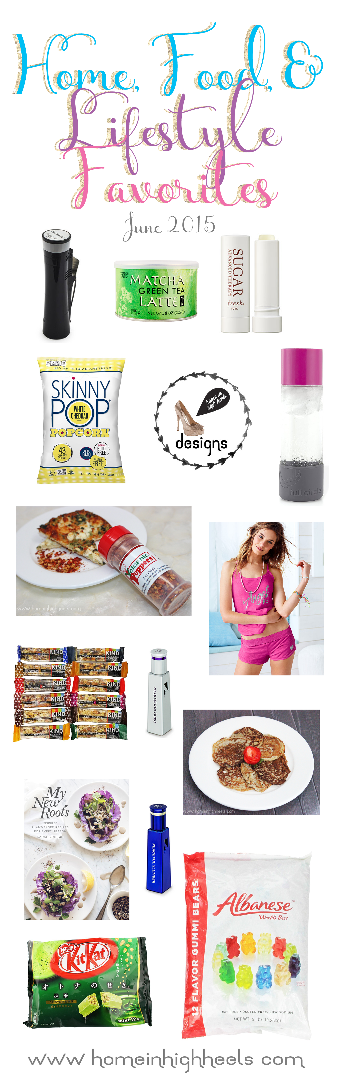 Lifestyle, food, & home favorites including yummy snacks, top recipes, & my new business on Home in High Heels | www.homeinhighheels.com