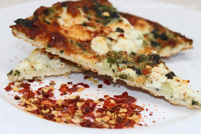 Hot & Spicy Volcanic Peppers Volcano Dust 5 Pepper Flakes Seasoning aka the BEST spicy pizza seasoning ever! on Home in High Heels | www.homeinhighheels.com
