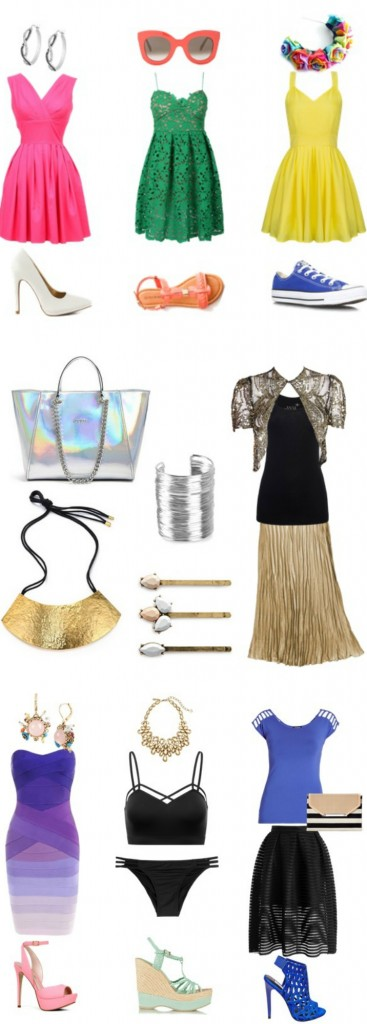 How to Style a Confident Outfit- showing some skin in a classy way, adding in some flash with metallics, & making a statement with a pop of color! on Home in High Heels | www.homeinhighheels.com