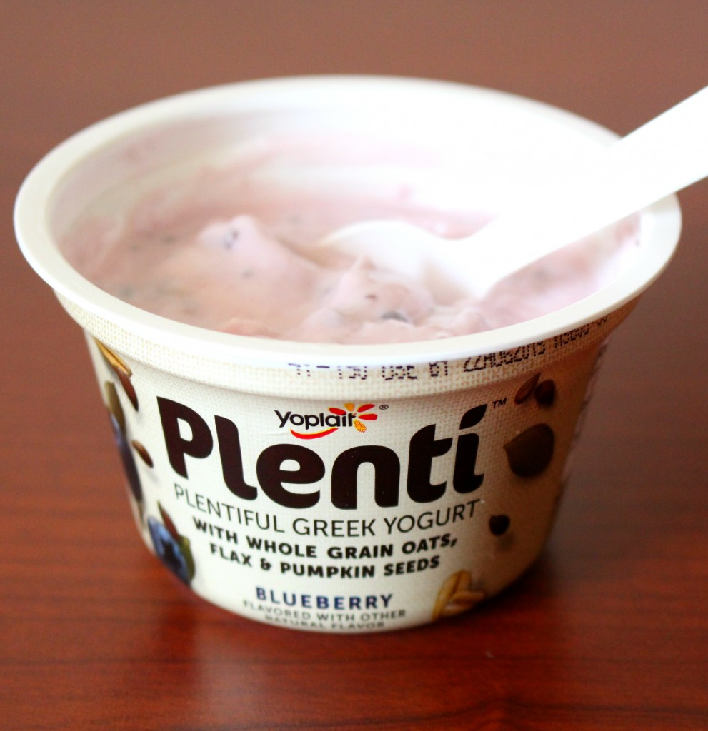 I've got Plenti of Good Things to Say About This Snack! Plenti Greek Yogurt from Yoplait is tasty & even has add ons like pumpkin seeds, whole grain oats, & flax! Check out more about this healthy snack on Home in High Heels | www.homeinhighheels.com