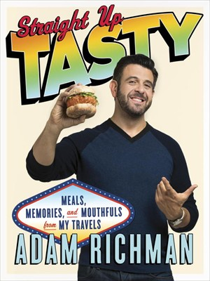 My Look into Straight Up Tasty by Adam Richman- an unexpected read! on Home in High Heels | www.honmeinhighheels.com