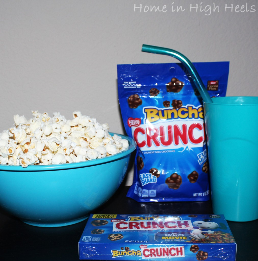 Kill Boredom with a Movie Night at Home including snacks on Home in High Heels. This military family is on a budget & needs to have a bit of fun! | www.homeinhighheels.com