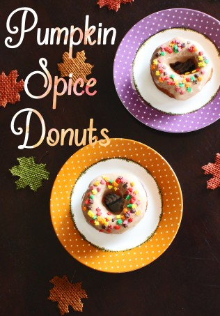 A simple recipe for fantastic donuts! Quick Biscuit Donuts with Pumpkin Spice Creamer Icing- using what you have in your fridge to create something super impressive! & on a budget! No waste & scrumptious results perfect for using up creamer in a recipe & delving into autumn treats! View more recipes & lifestyle posts on Home in High Heels