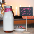This recipe is one of my absolute favorites for the colder months- my DIY recipe for Honey Coconut Milk Bath. Get ready to soak away your stress & get moisturized! Check it out & get more great tips on Home in High Heels!