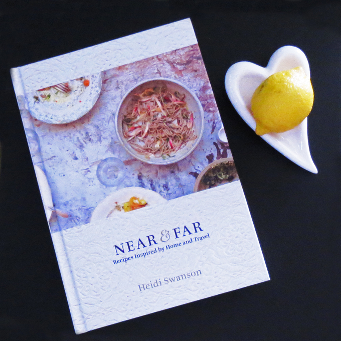 Want to journey through dazzling places & even more incredible kitchens? Near & Far by Heidi Swanson will take you there with her globetrotting adventures & 120 vegetarian dishes to make your soul sing. Check it out & read more on Home in High Heels