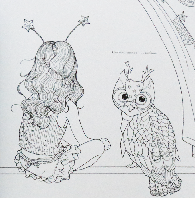 """The Time Chamber by Daria Song is the most beautiful book I've ever had the honor of coloring in. I love everything about this little """"fairy tale"""" & the fact that it doubles as an actual book you can read your children has me head over heels. Read more about this perfect gift or activity book for you on Home in High Heels"""