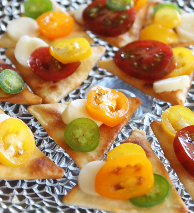 Circle Dot Bites Recipe- an Easy Appetizer or Snack! Check out more recipes, lifestyle posts, & DIY ideas on Home in High Heels