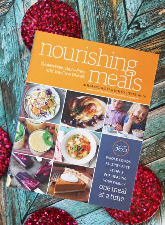 Take a peek into Nourishing Meals: 365 Whole Foods, Allergy-Free Recipes for Healing Your Family One Meal at a Time by Alissa Segersten & Tom Malterre on Home in High Heels