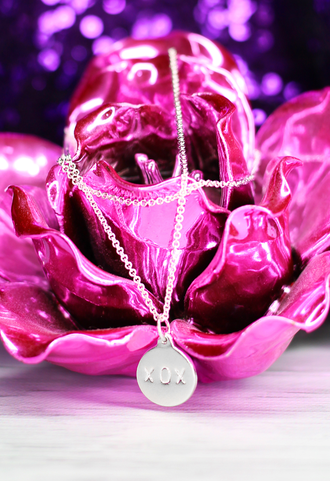 Helen Ficalora XOX Sterling Necklace Valentine's Day Giveaway on Home in High Heels