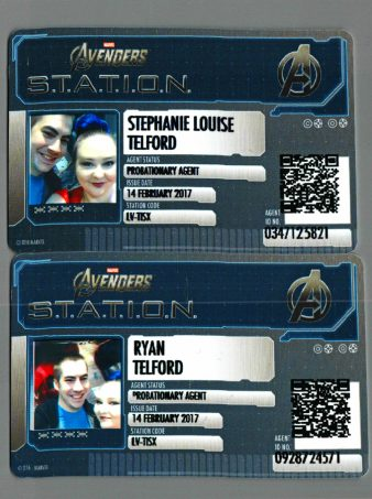 See our adventure inside the Marvel Avengers S.T.A.T.I.O.N. in Las Vegas include lots of photos, some favorite areas, & why you need to go on Home in High Heels.