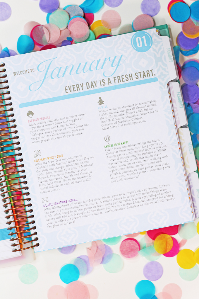 A Look at the kitlife planner & Why I Love It - the Keeping It Together Planner inside, details, & my favorite part on Home in High Heels