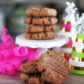 Nuts 'N More Protein Power Butter Cookies Recipe- great for high protein, low carb, LCHF, & keto especially! See more recipe ideas on Home in High Heels