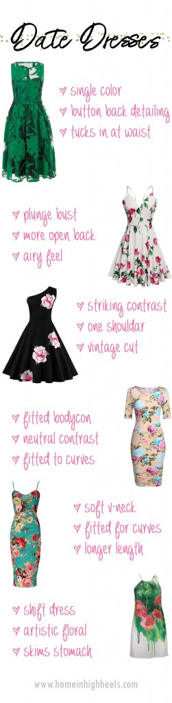ring Floral Dresses for Curvy Girls + How I Keep Them in Great Shape! Date night, maxi dresses, & vintage inspired picks too! See more lifestyle, fashion, & recipes on Home in High Heels