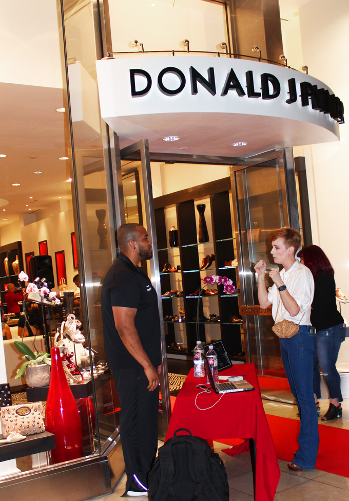 A Peek at Fall with Donald J Pliner + Dopamind Boxing Event on Home in High Heels