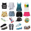 My top summer outfit picks from Amazon- a top, jean shorts, accessory, & of course- comfortable sandals! Amazon Picks: Hot Summer Outfits for Your Next Bash! (for every body type!) on Home in High Heels