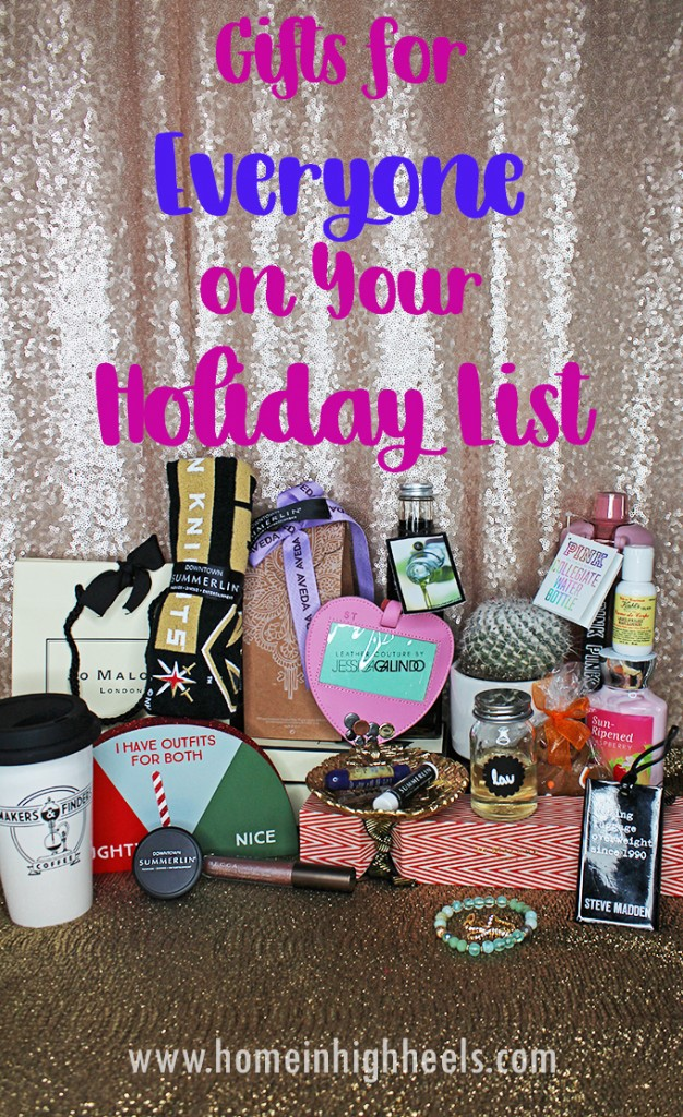 Gifts & Shopping Ideas for Everyone on Your Holiday List + Downtown Summerlin Favorites on Home in High Heels
