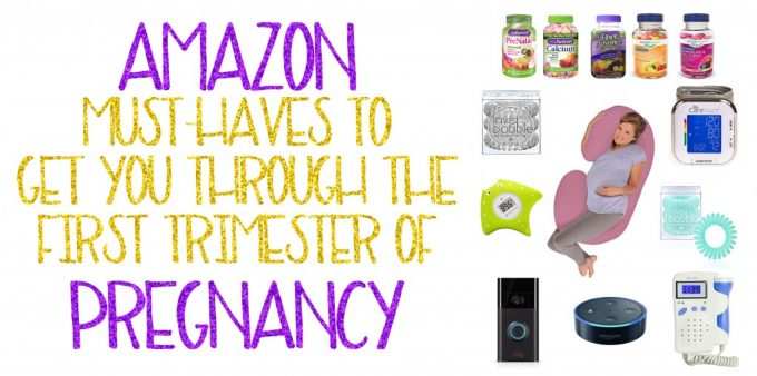 Amazon Must-Haves to Get You Through the First Trimester of Pregnancy- the ultimate pregnancy shopping guide on Home in High Heels