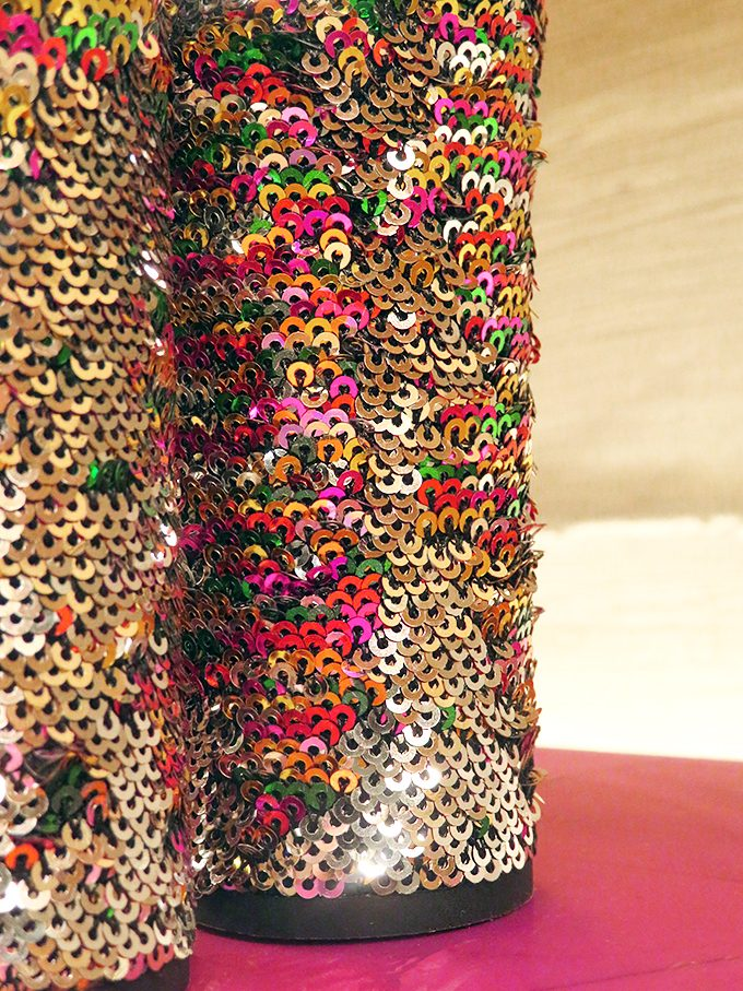 Sam Edelman Sequin Heels A look at all the top fall / autumn trends at the Forum Shops Las Vegas including a look at the must-haves to order for lunch at Sushi Roku at Home in High Heels