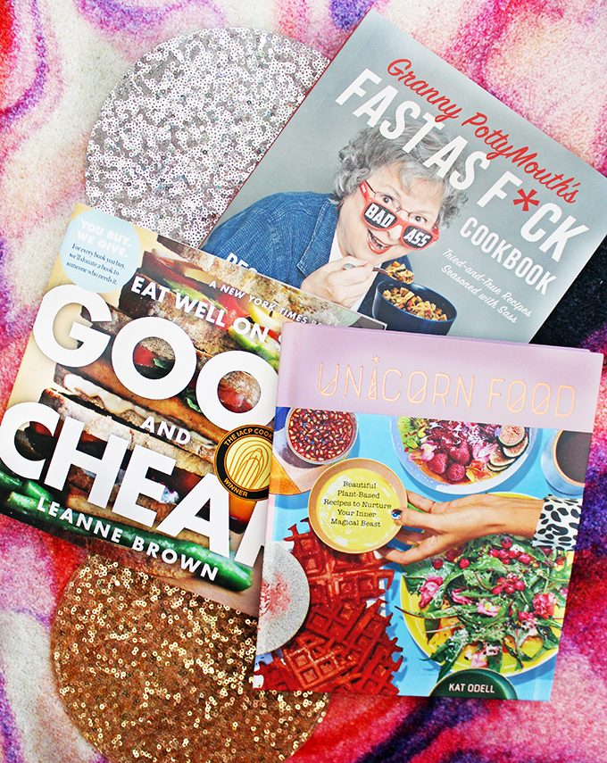 Cookbooks she'll love like Unicorn Foods, money saving hacks, & quirky granny ideas! Unique & Thoughtful Gifts for Her She'll Love- Shipped! From crafts to crystals to manicures to yoga on Home in High Heels
