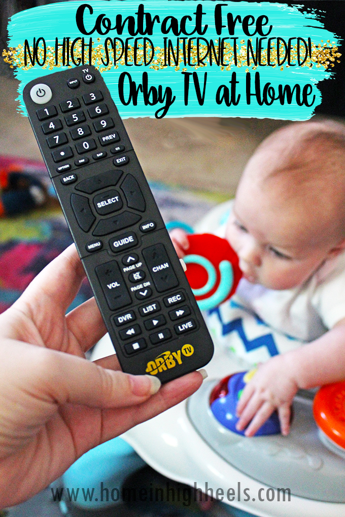Getting ORBY TV at Home- No Contract or High-Speed Internet
