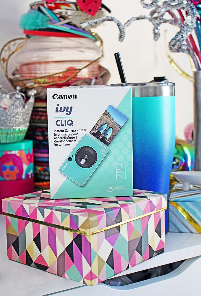 Check out the Canon IVY CLIQ Camera- you can print photos, take perfect selfies, & capture all your memories on Home in High Heels