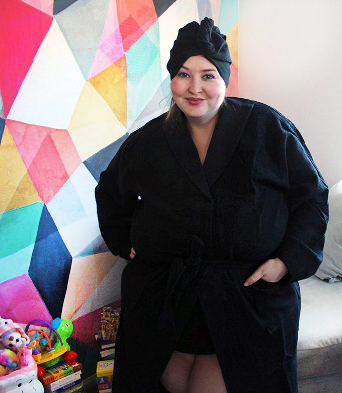 Unique & Thoughtful Gifts for Her She'll Love- Shipped! From crafts to crystals to manicures to yoga & this Krown Robe with attached turban on Home in High Heels