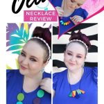 Ruby Olive Necklace Reviews including teething, reversible, & super colorful unique designs on Home in High Heels