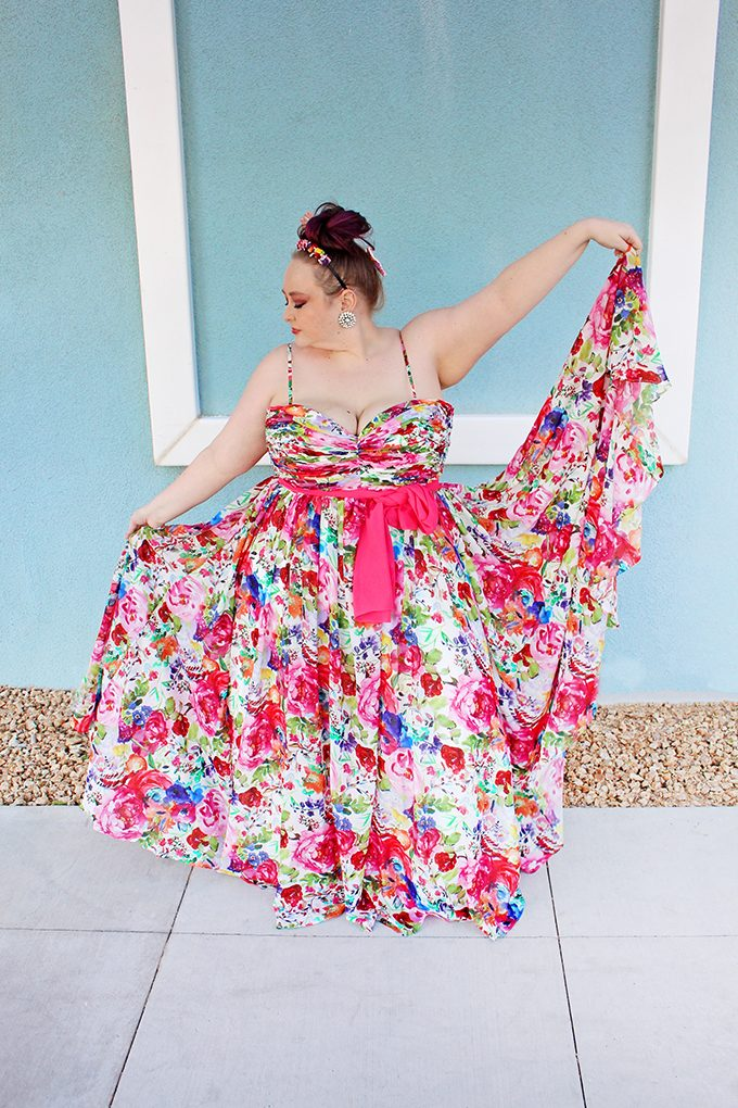 Styling Glam Plus/Curvy Event Dresses from Sydney's Closet (Formal, Cocktail, Prom, Wedding, & More!) including shoes & accessories on Home in High Heels