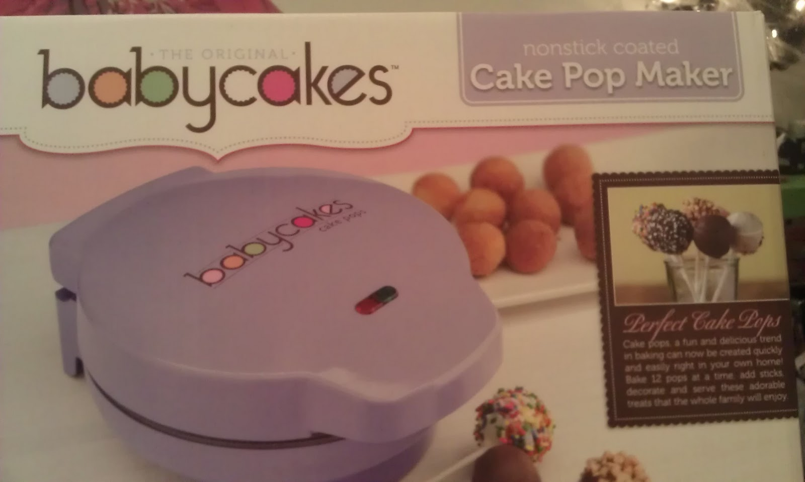 Bake Delicious Cake Pop Maker